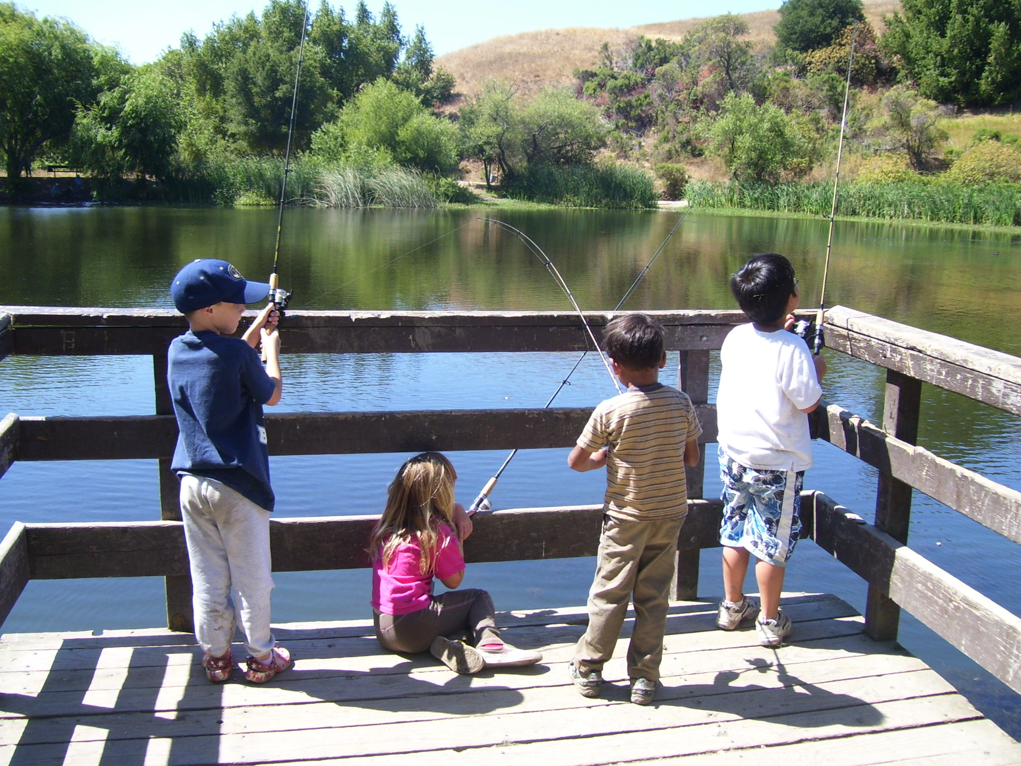 Fishing fun prairie heritage center o 39 brien county for Fishing summer camp